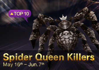 Eudemons Top 10 Spider Queen Killers